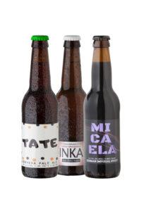 Pack cervesa artesana Ninkasi ecològica gluten-free ecofeminista